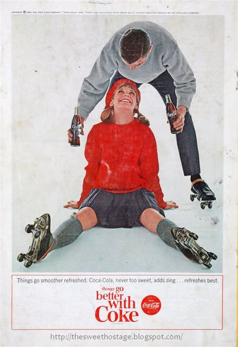 SWEET HOSTAGE: VINTAGE COKE ADS ( 7 ): WISH GRANTED! THE