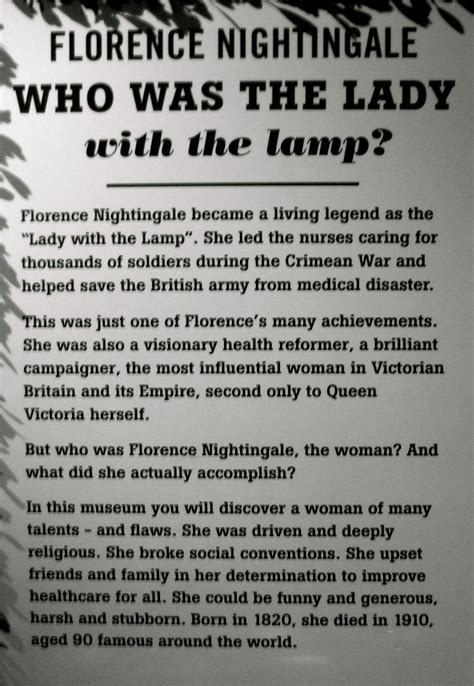 Inspiration 1Florence Nightingale | The life and times of