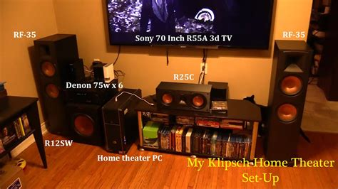 Klipsch Reference Series Home Theater Integrated PC With 8