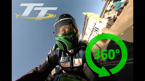 TT 2017 On Bike lap in 360 degrees with Horst Saiger