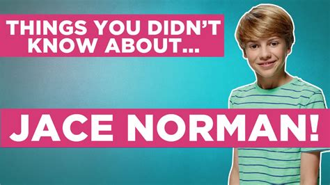 Things You Didn't Know About Jace Norman! - YouTube