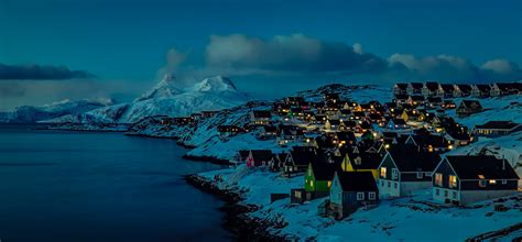 Nuuk Nights   15 minutes after sunset in Mosquito Valley