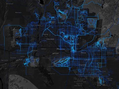 These cool heatmaps show the most popular running routes