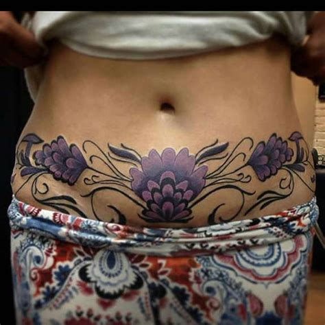 38 Best Female and Male Stomach Tattoos