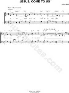 """David Haas """"Jesus, Come to Us"""" Sheet Music in F Major"""