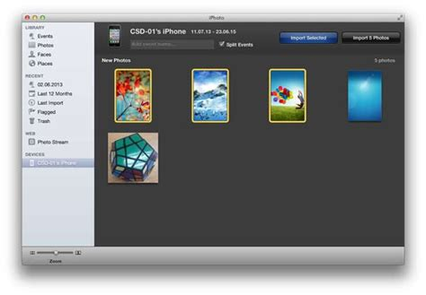 Transfer Photos from iPhone to Mac (macOS High Sierra