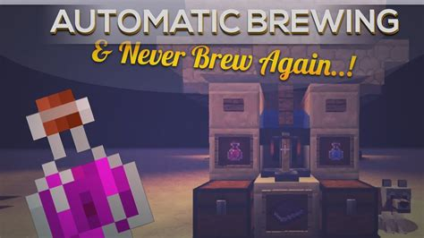 Automatic Potion Brewing In Minecraft 1