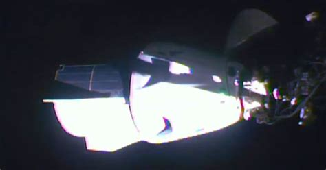 Watch SpaceX's Crew Dragon Dock With the ISS