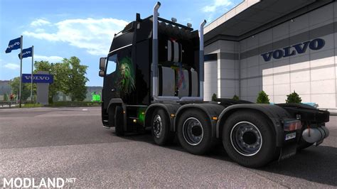 Volvo FH16 8x4 mod for ETS 2