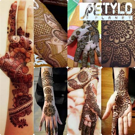 New Simple and Easy Mehndi Designs 2016-2017 for Eid Al