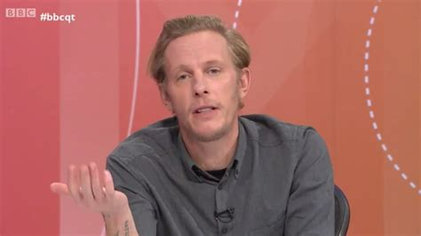 Laurence Fox tells Question Time guest it's 'racist' to
