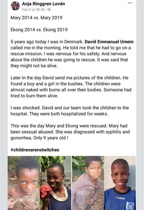 Incredible transformation of two rescued Nigerian children