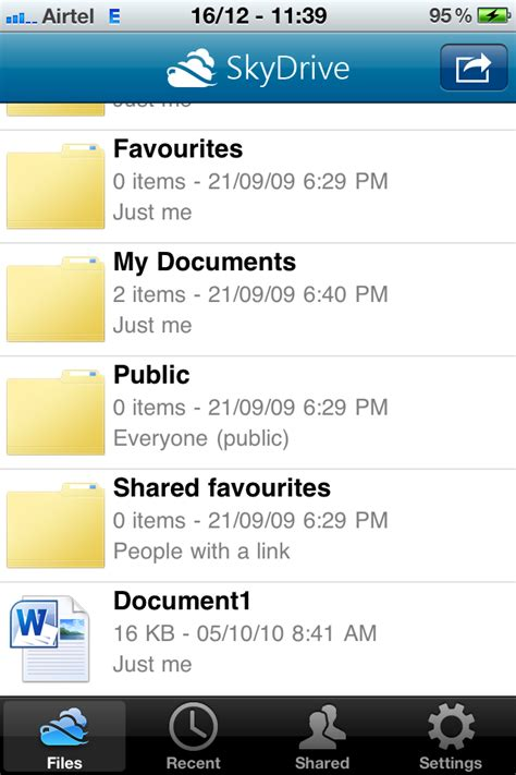 Microsoft SkyDrive for iPhone and Windows Phone With 25 GB