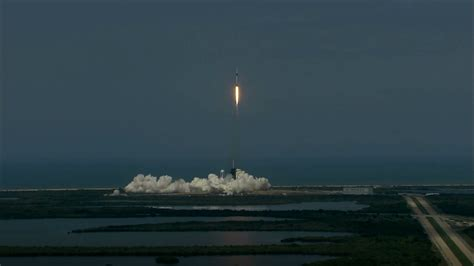 NASA, SpaceX Make History With Crew Dragon Manned Launch