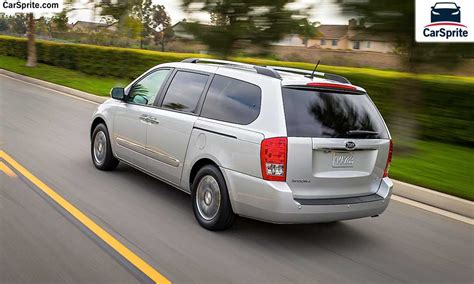 Kia Carnival 2017 prices and specifications in Oman | Car