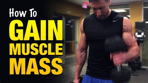 How To Gain Muscle Mass Fast: 3 Tips That Pro Bodybuilders