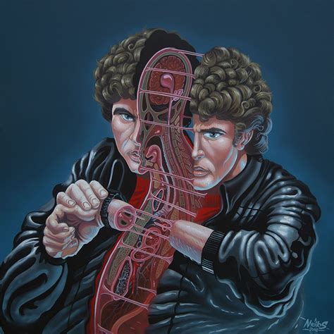 Cutaway Portraits of Pop Culture Icons by Nychos | Earthly