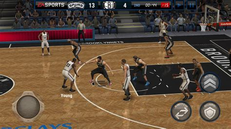 This year's NBA Live game has launched — on iOS and