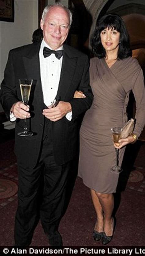 """PIERS MORGAN: 'Dave Gimour's wife tweeted: """"I am a shouty"""