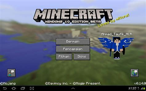 Download Minecraft windows 10 Edition Beta for android