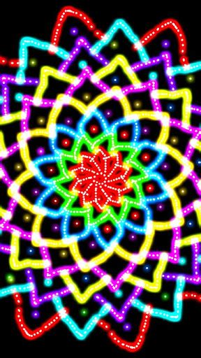 Glow Spin Art » Android Games 365 - Free Android Games