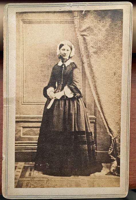 """Cdv of Florence Nightingale """"the Lady with the Lamp"""""""