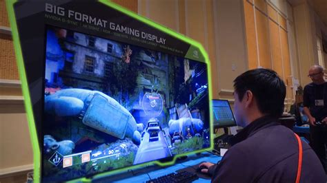 Nvidia's 65-inch Gaming Monitor Is A Big Deal, And We Saw