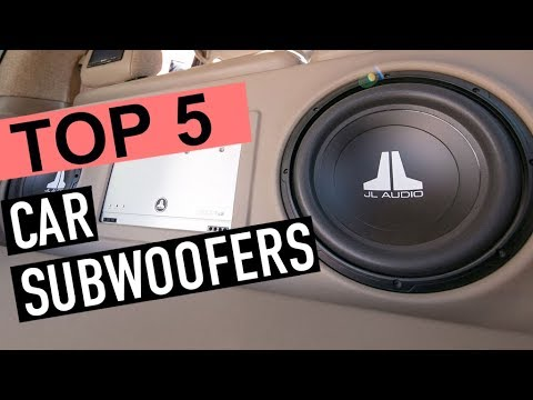 How To Connect A Subwoofer To A Car Stereo Without An