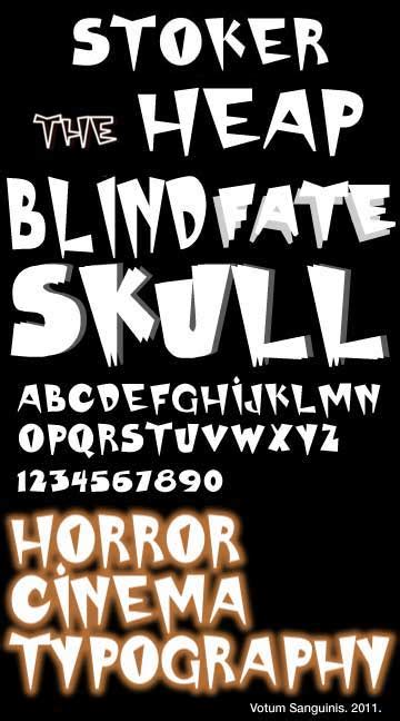 12 Scary Bloody Word Font Images - Horror Text Generator