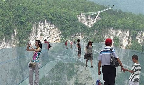 China to unveil the worlds longest transparent bridge and