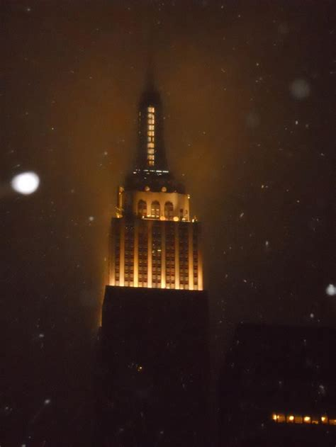 Jason's View from DC: Empire State Building in Snow