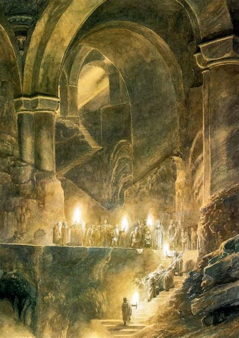 Alan Lee's Lord of the Rings Illustrations – Maria Lang