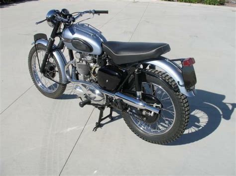 1956 Triumph Trophy TR6 Classic Motorcycle Pictures