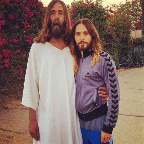 Jared Leto Poses With Jesus and It's Amazing: See the Pic