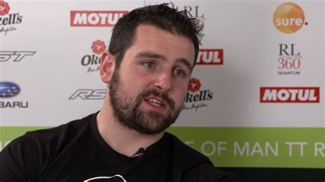 Michael Dunlop talks about his father Robert at the Isle