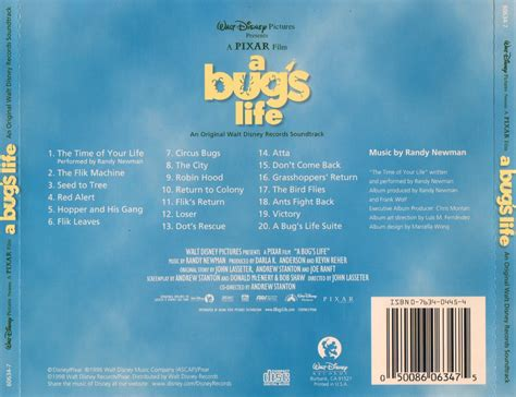 Film Music Site - A Bug's Life Soundtrack (Randy Newman