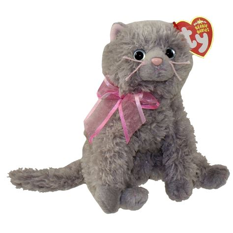 TY Beanie Baby - FLUFF the Cat (5