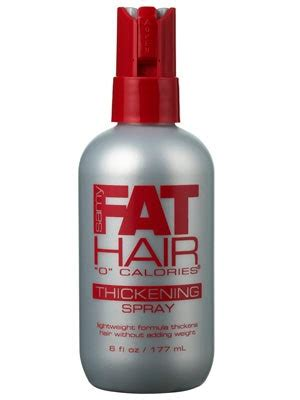 Samy Fat Hair 0 Calories Thickening Spray Review | Allure