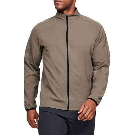 Under Armour Mens Storm Jacket - Silt Brown - Tights