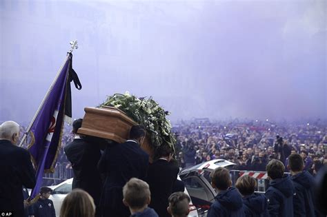 Photos from the funeral of Florentina and Italian