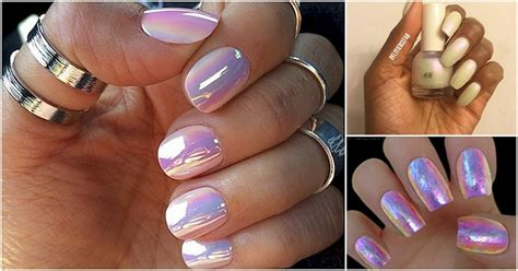 12 Luminous Nail Options That Will Make You Glow And Shimmer