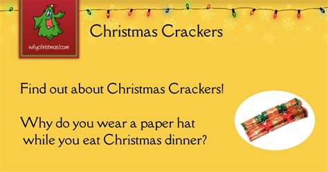 The History of Christmas Crackers -- Christmas Customs and