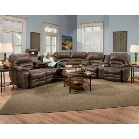 Legacy Reclining Sectional Collection - Cedar Hill Furniture
