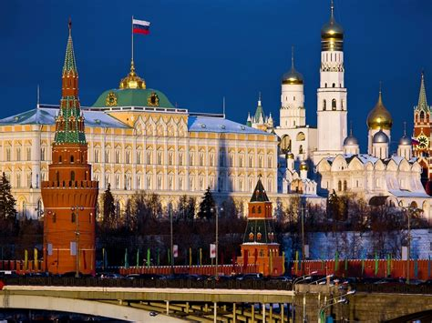 The Kremlin Moscow Capital Of Russia Windows Hd Wallpapers